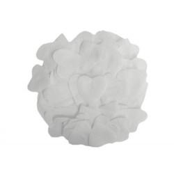 Pétale de rose coeur blanc