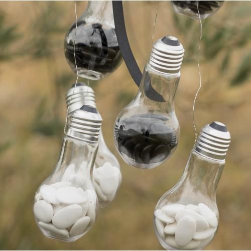 Contenant à dragées ampoule par 4