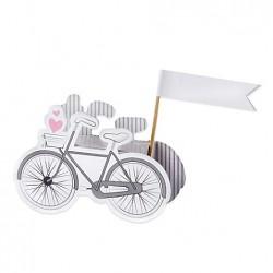 Boite à dragées bicyclette par 10