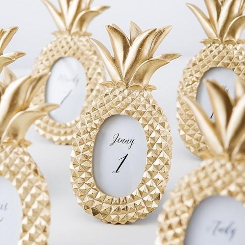 Cadre nom de table ananas