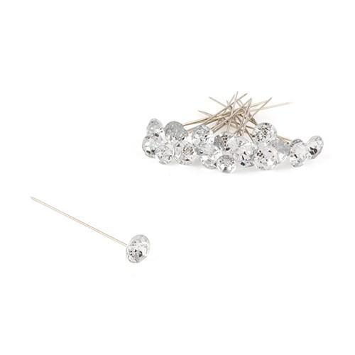 Bijoux fleurs de diamant ( par 10 )