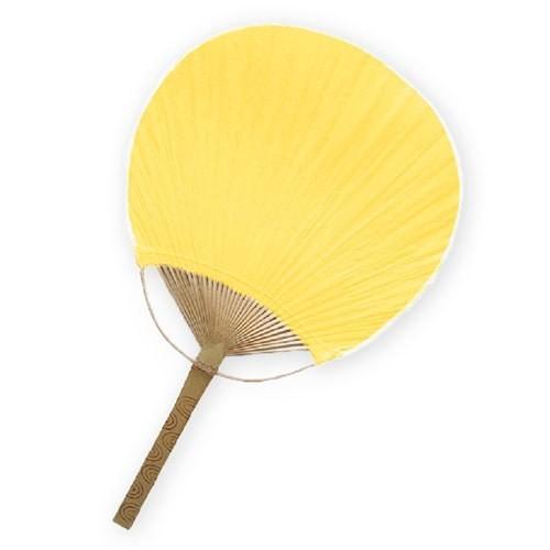 Eventail padel jaune