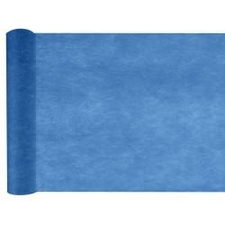 Chemin de table intissé bleu marine 10 m