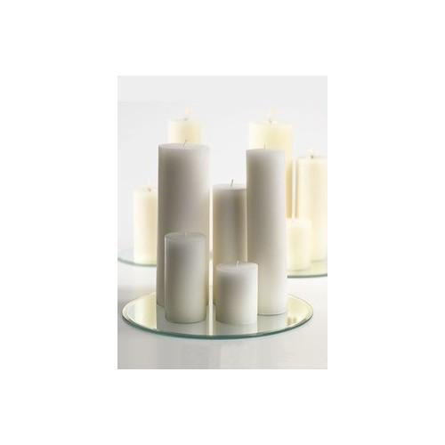 Centre de table mariage miroir rond 25 cm les couleurs du mariage mariage et r ception - Centre de table avec miroir ...