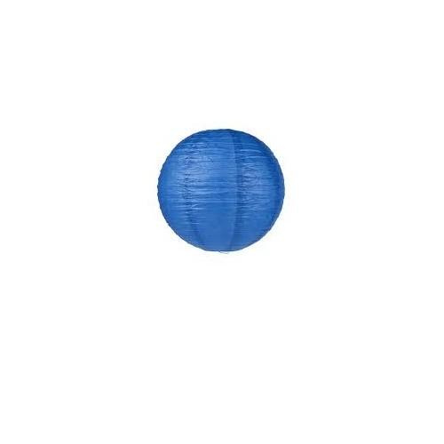 Lanterne en papier Bleu roi