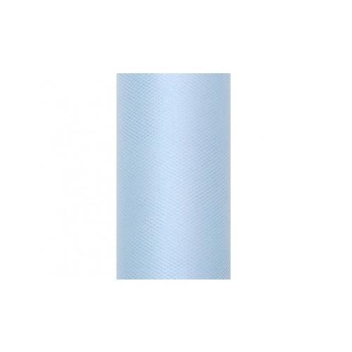 Rouleau de tulle ciel 50 cm