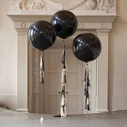 Ballon géant noir 250 cm