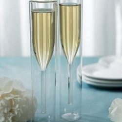 Flutes à champagne contemporaine