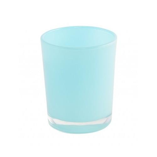 Bougeoir bleu pastel