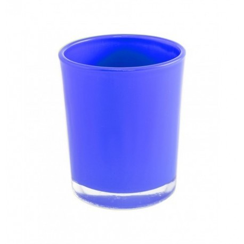 Bougeoir bleu roi