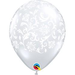 Ballon baroque transparent par 5