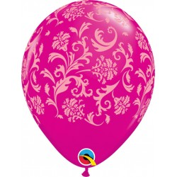 Ballon baroque trasparent par 5