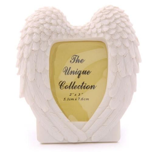 Cadre photo ailes d'ange