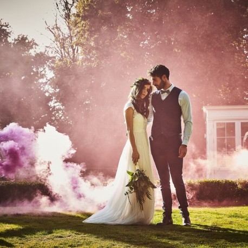 Fumigène violet