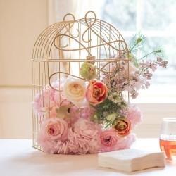 Cage à oiseaux décorative