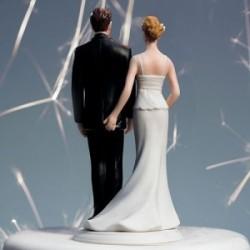 Figurine de mariage humoristique