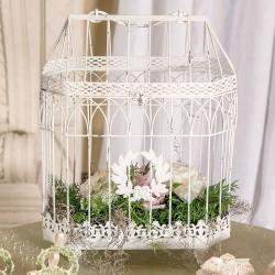 Cage décorative mariage vintage