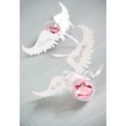 Marque place ailes d'ange par 6