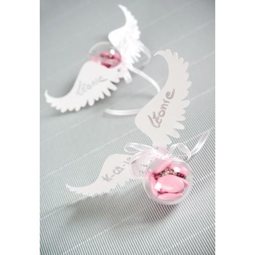 Marque place ailes d'ange