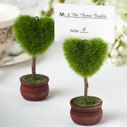 Porte nom arbre coeur