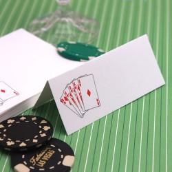 Marque place jeu de carte