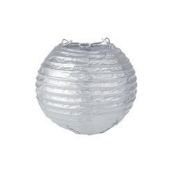 Lanterne chinoise 20 cm argent