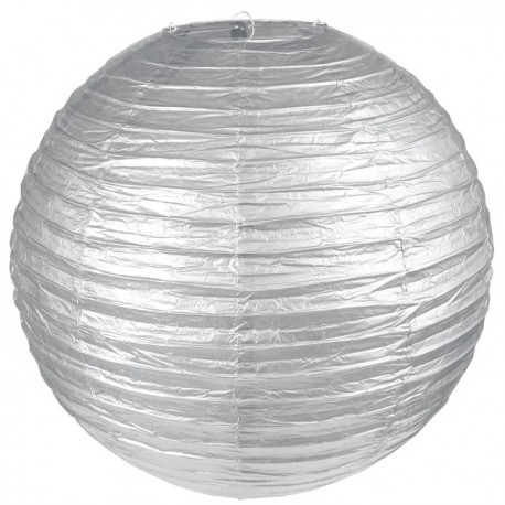 Lanterne chinoise 50 cm métallisée