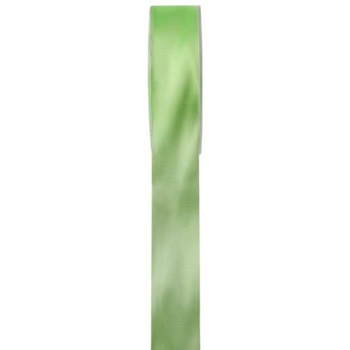 Ruban en satin vert