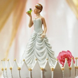 Figurine de mariage conte de fée