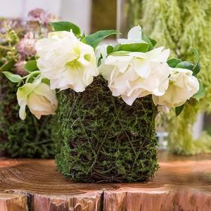 Vase décoratif végétal
