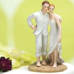Figurine de mariage thème mer