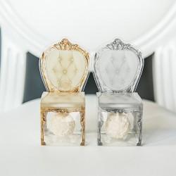 Boite à dragées  chaise transparente par 10