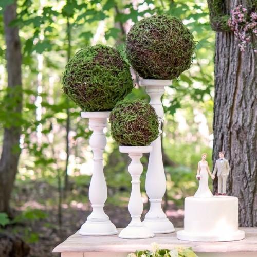 Boule décorative en mousse