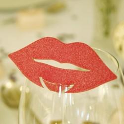 Marque place bouche glamour par 10