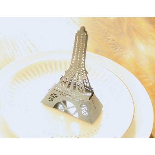 Boite à dragées Tour Eiffel