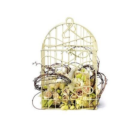 cage oiseaux d corative les couleurs du mariage. Black Bedroom Furniture Sets. Home Design Ideas