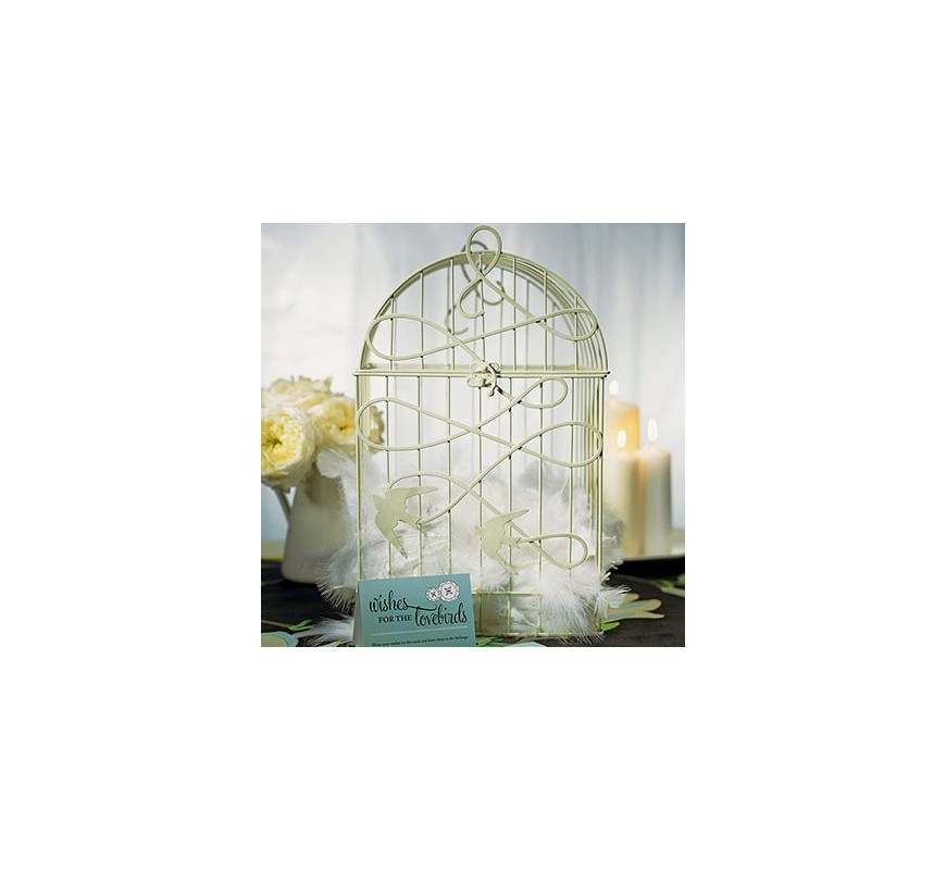 cage oiseaux d corative les couleurs du mariage mariage et r ception. Black Bedroom Furniture Sets. Home Design Ideas