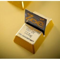 Marque place lingot d'or