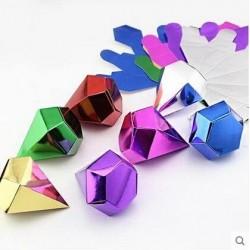 Boite à dragées diamant par 10