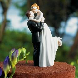 Figurine de mariage romantique