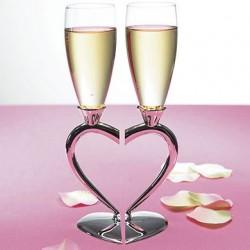 Flûtes à champagne amour