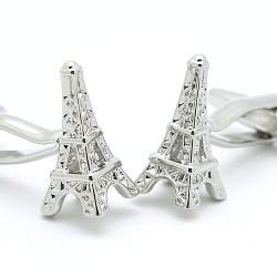 Boutons de manchette la Tour Eiffel