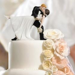 Figurine de mariage danse romantique