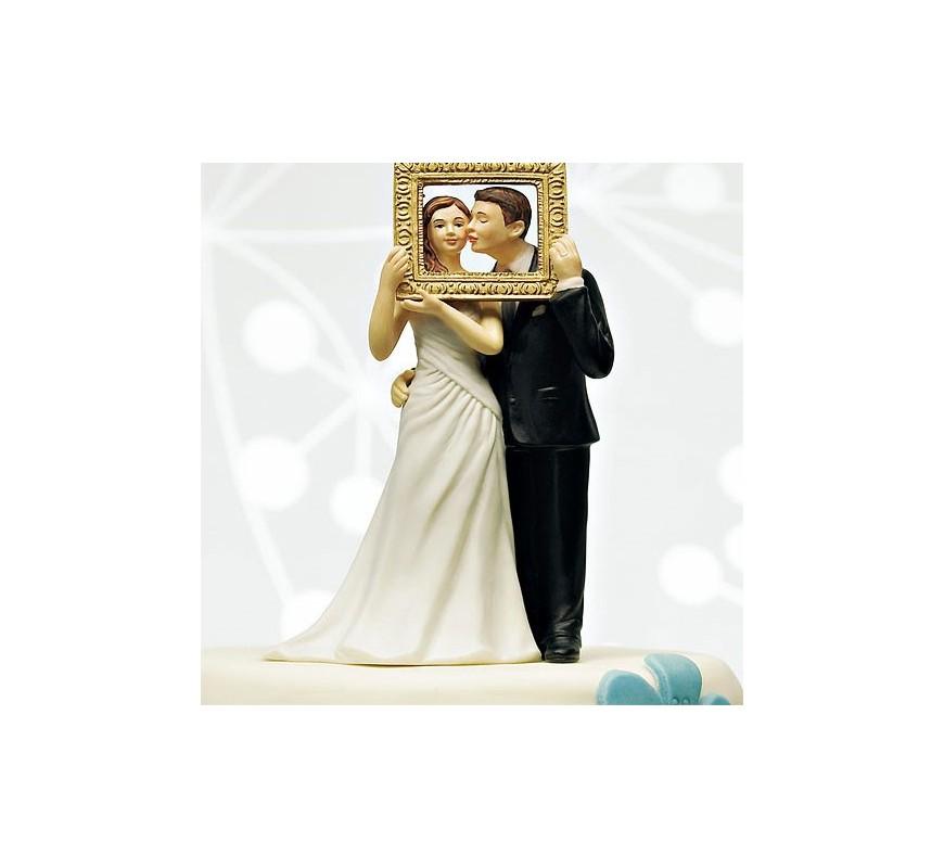 Figurine de mariage photobooth Les Couleurs du Mariage