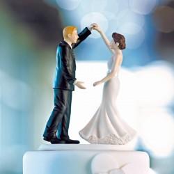 Figurine de mariage première danse