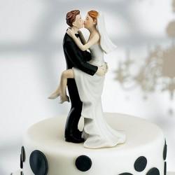Figurine mariés fougueux