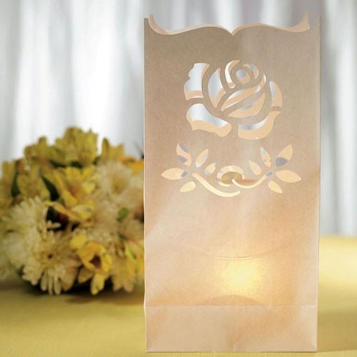 Sachet lanterne rose par 10