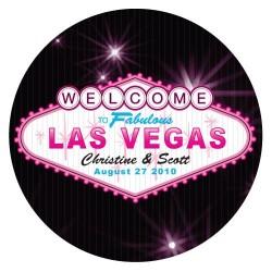Stiker personnalisable Las Vegas