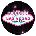 Sticker personnalisable Las Vegas