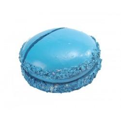 Marque place macaron bleu turquoise